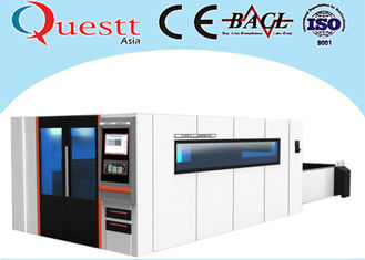 Big Sheet Metal Laser Cutting Machine 10000W With Sealed Working Table